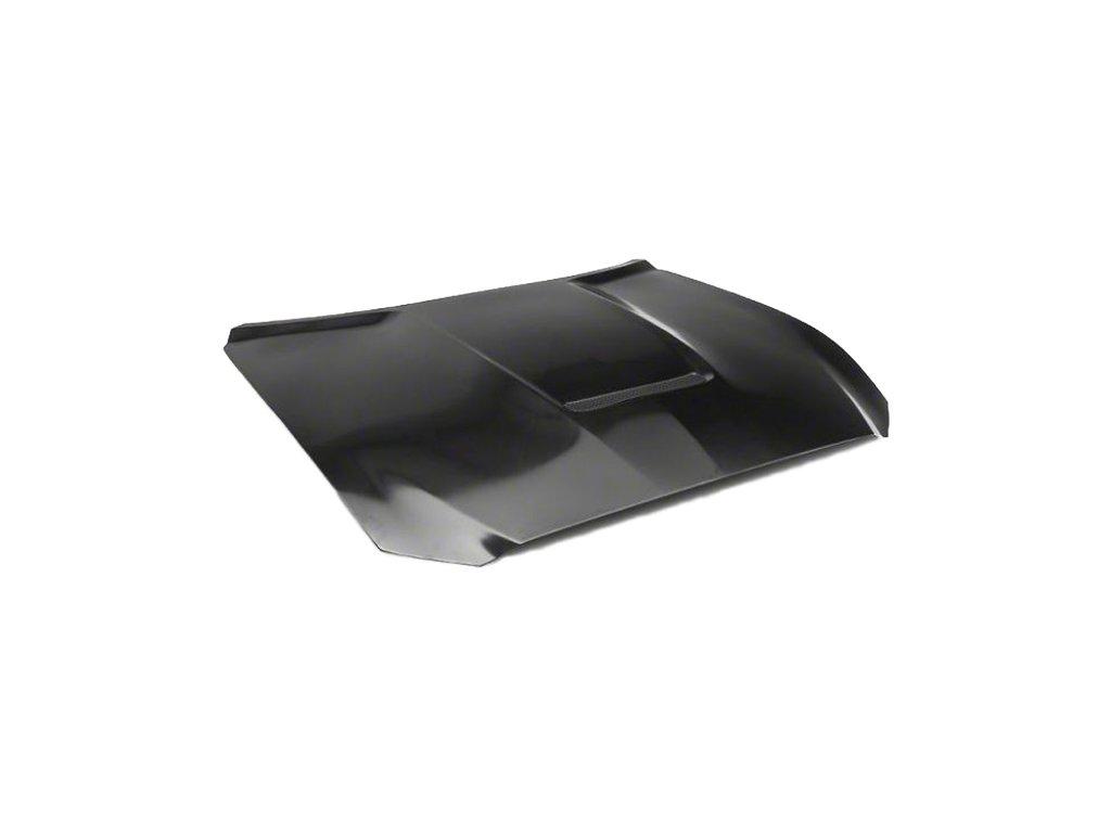 GT350 Style Aluminum Hood - Unpainted (MUSTANG 15-17 GT, Ecoboost, V6)