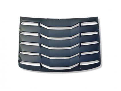 Rear Window Louvers - Matte Black (CAMARO 16-20 all)