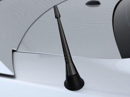 Steeda Mustang Black Billet Shorty Antenna (10-14)