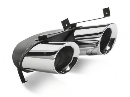 Quad Exhaust Tips for MP Concepts GT350 Style Rear Diffuser (MUSTANG 15-17 GT Premium, EcoBoost Premium)
