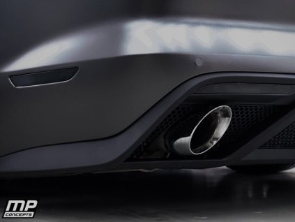 GT350 Style Rear Diffuser (MUSTANG 15-17 GT Premium, EcoBoost Premium)
