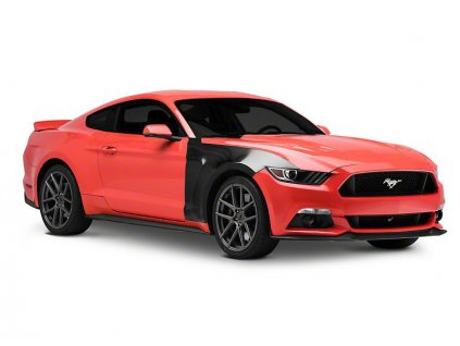 GT350 Style Replacement Fenders - Aluminum (MUSTANG 15-17 GT, EcoBoost, V6)