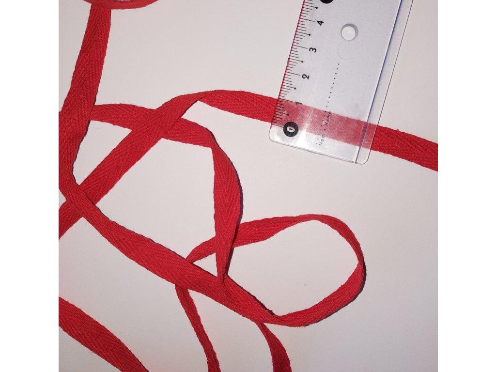 keprovka-tkaloun červená 10 mm