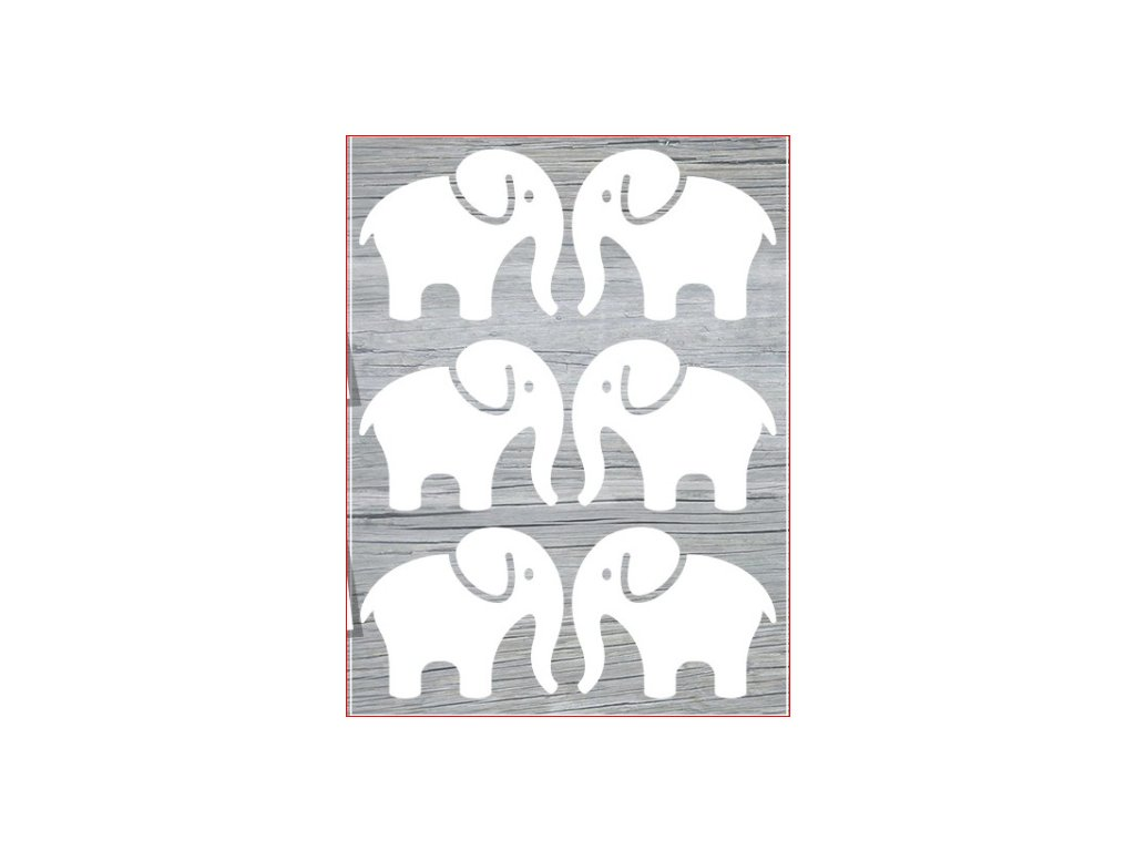 slon svítící