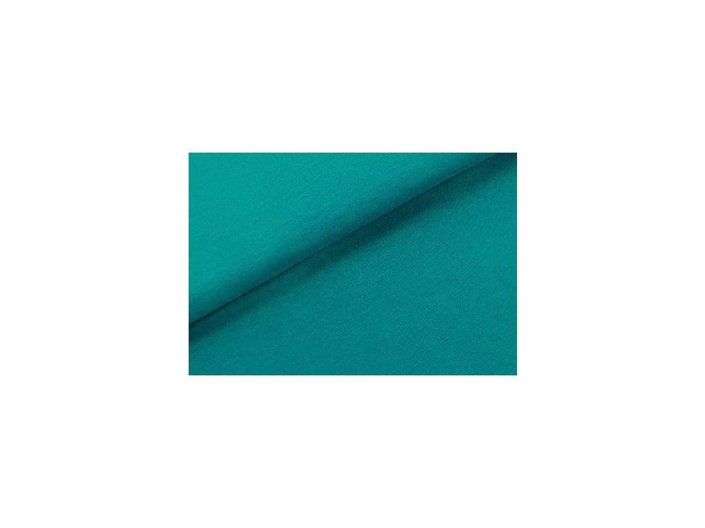 teplakovina s elastanem emerald