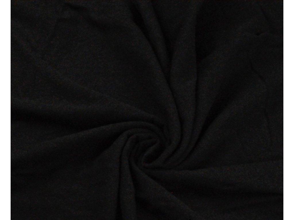 fleece černý