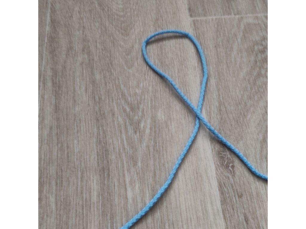 snura odevní modrá sv