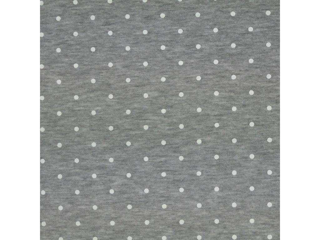 puntík šedý tepl