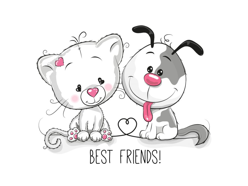 úplet best friends