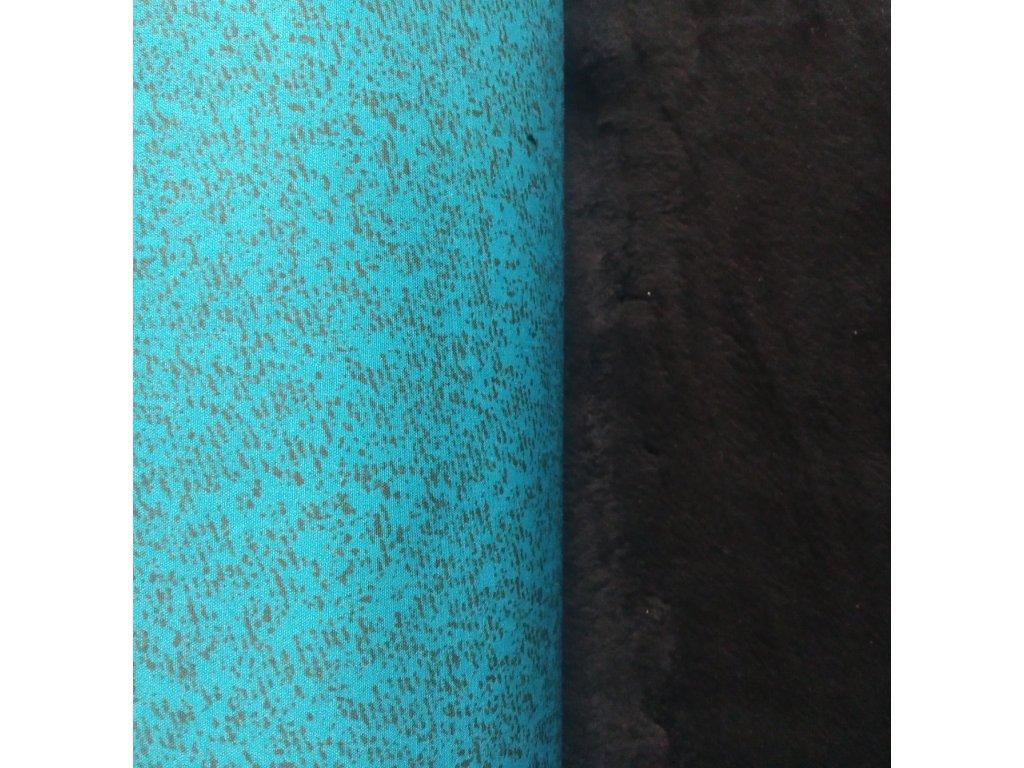 Softshell tyrkys s kostičkami 30/15 1,14 m zbytek