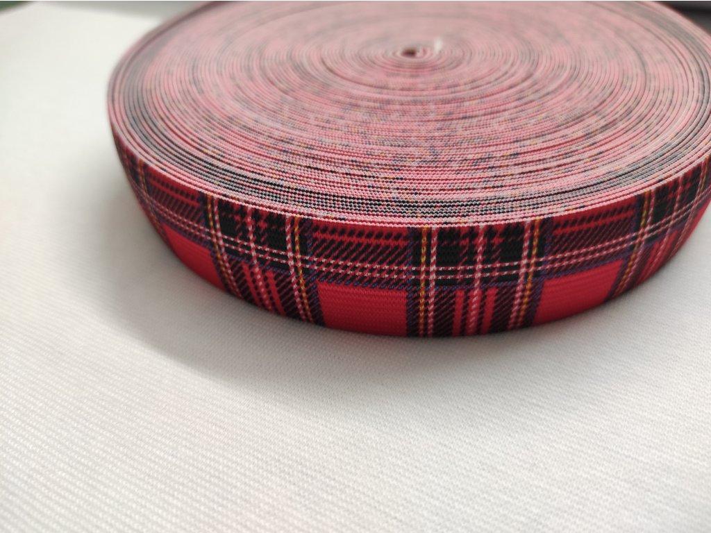 Guma tkaná kostka š. 2,7 cm