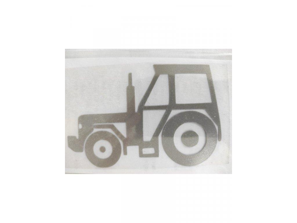 Reflexní nažehlovačka doprava traktor velký