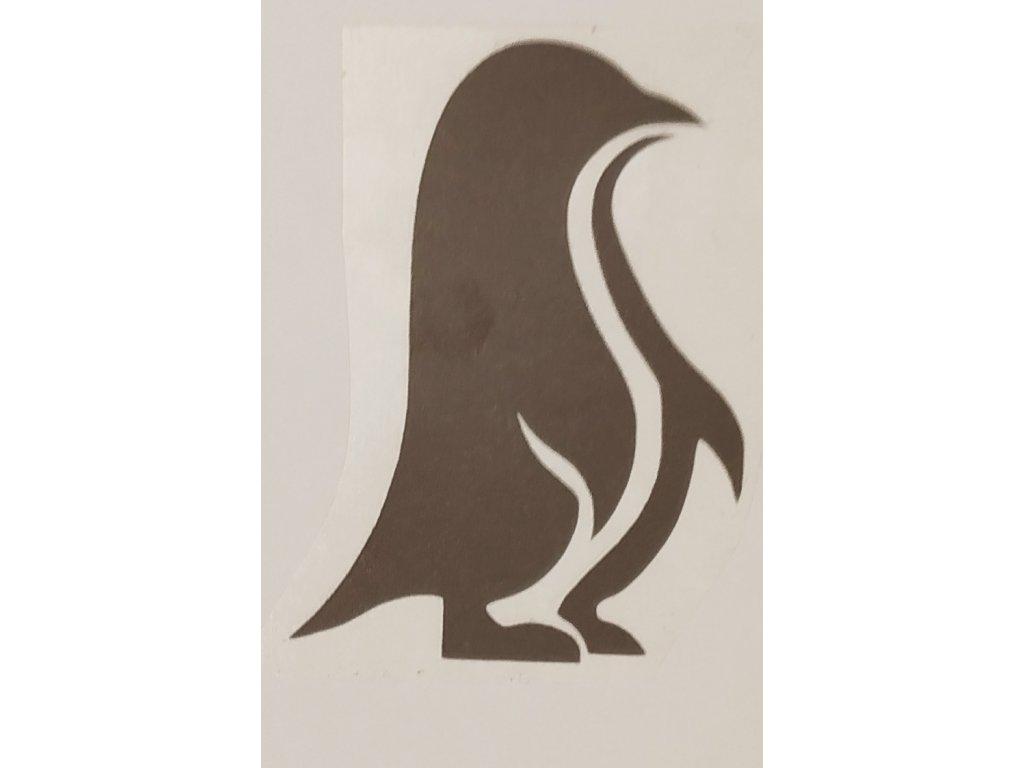 Reflexní nažehlovačka tučňák výprodej