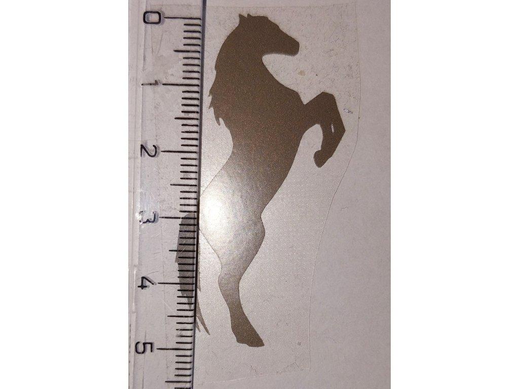 Reflexní nažehlovačka kůň