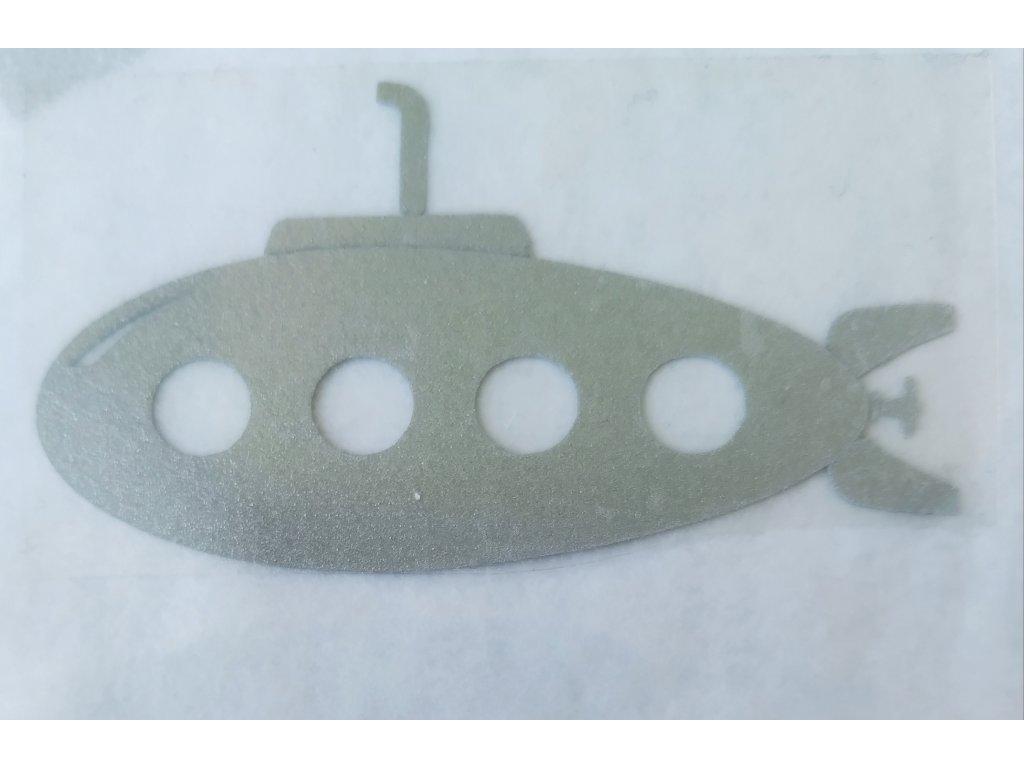 Reflexní nažehlovačka ponorka 3