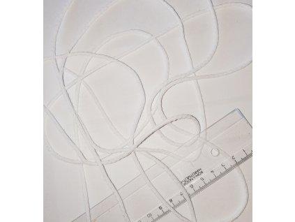 Šňůra bavlněná bílá 3 mm