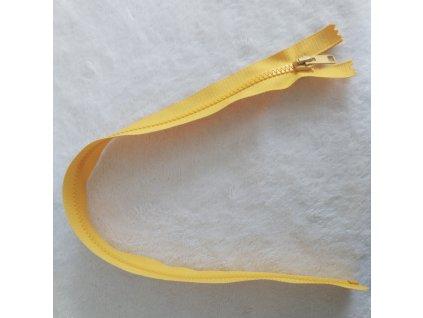 zip kostěný hořčice plastový 45cm