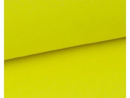 neon zluta teplakovina
