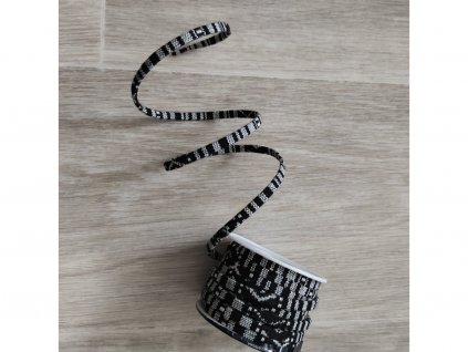 pásek černobílý