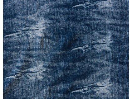 jeans teplákovina