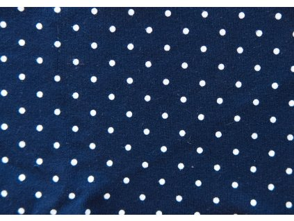 puntík modrá tepl