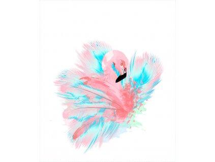 Flaming róż mięta