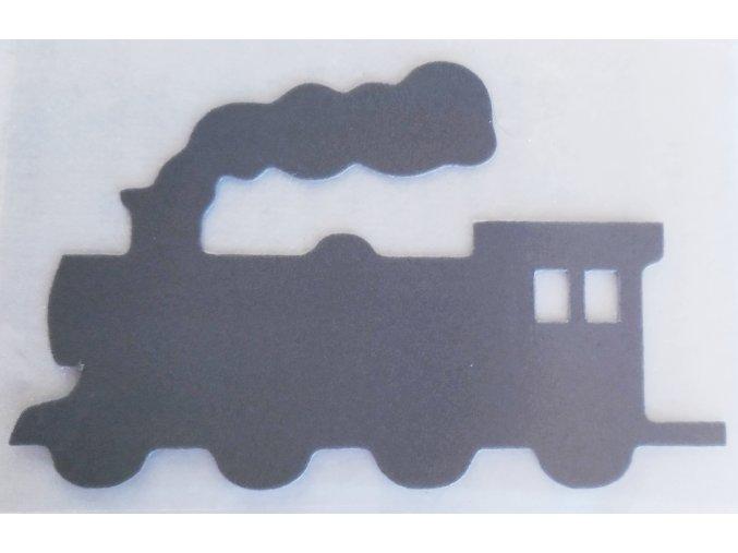 Reflexní nažehlovačka doprava mašinka