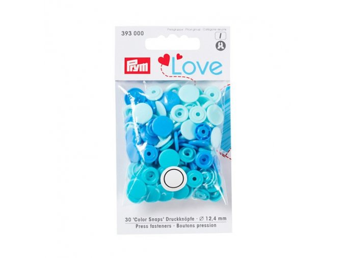 patentky prym love kulate color snaps 393000 12 4 mm