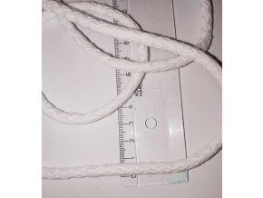 šňůra bílá 6mm