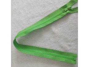 zip kostěný světle zelený plastový 45cm