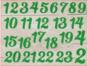 advent čísla