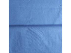 Plátno bavlněné modré