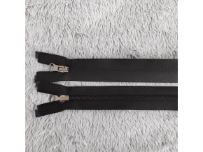 Zip spirálový voděodolný černý 60 cm