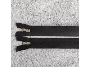 Zip spirálový voděodolný černý 55 cm