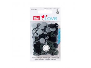 patentky prym love kulate color snaps 393003 12 4 mm