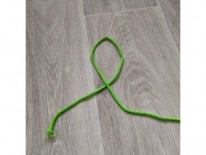 šnura oděvní neon zel