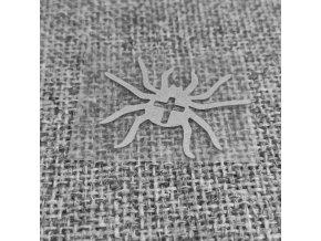 Reflexní nažehlovačka pavouk malý