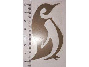 Reflexní nažehlovačka tučňák 6 výprodej