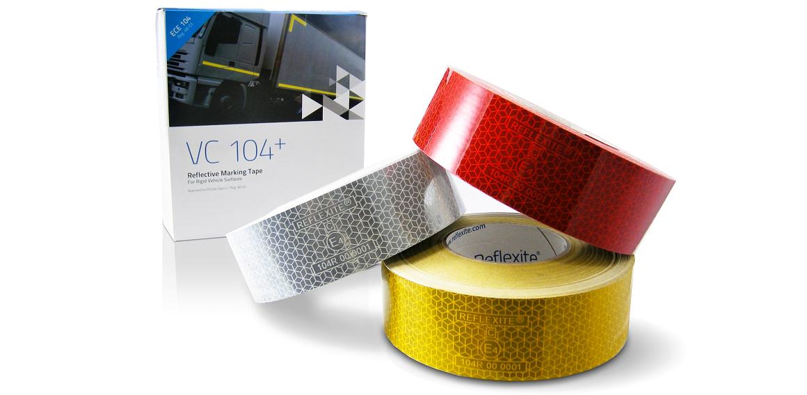 Reflexní pásky na označení vozidla