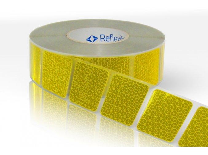 Reflexní páska Reflexite VC104+ žlutá na autoplachty