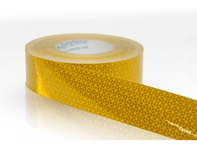 Reflexní páska Reflexite VC104+ žlutá na pevný podklad