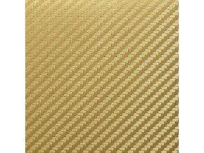 karbon folie zlata