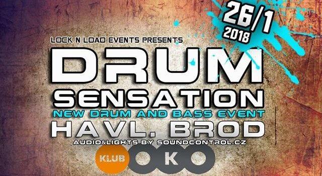26.1.2018 Drum Sensation │DJ PIXIE , DJ SUKI │ H. Brod