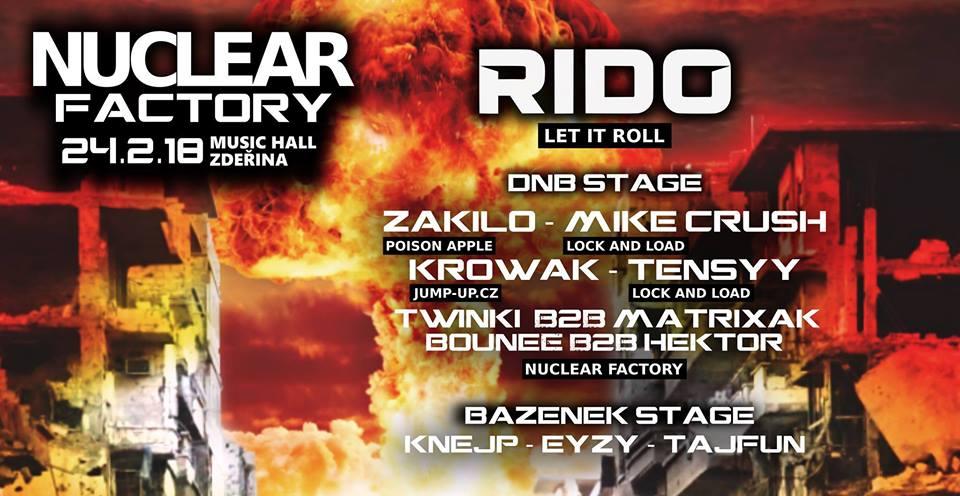 24.2.2018 Nuclear Factory Music Hall Zděřina