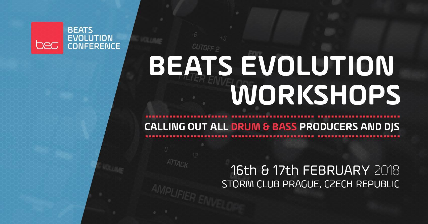 16-17.2.2018 Beats Evolution Conference klub Storm