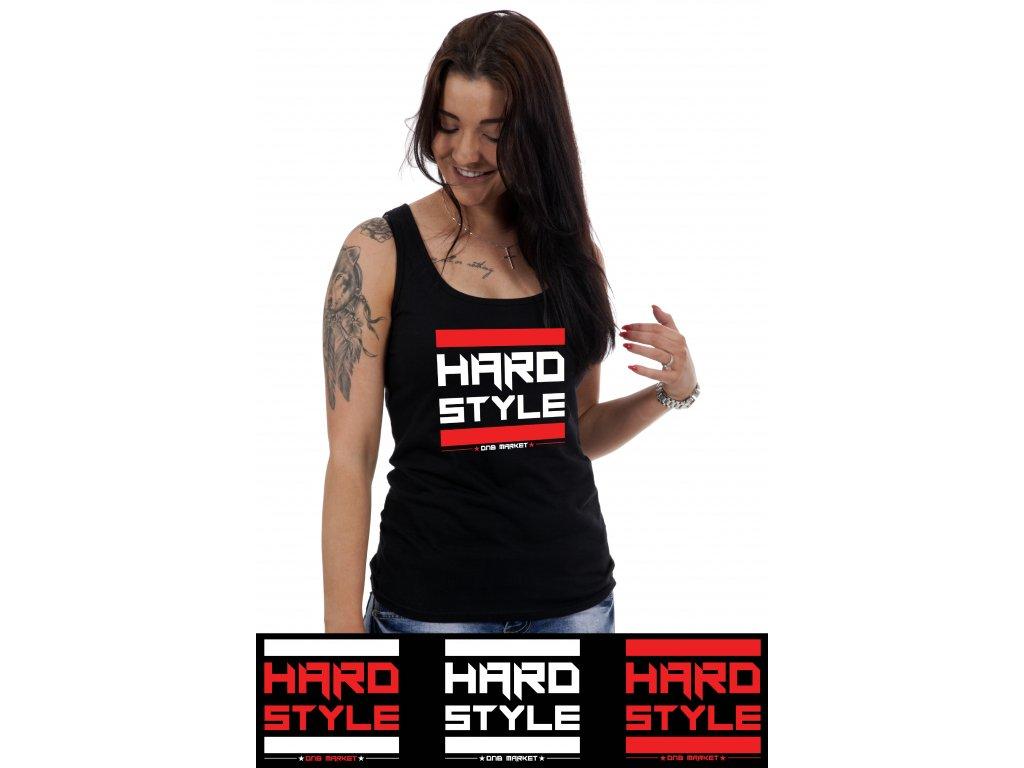tilka cerna damske hardstyle