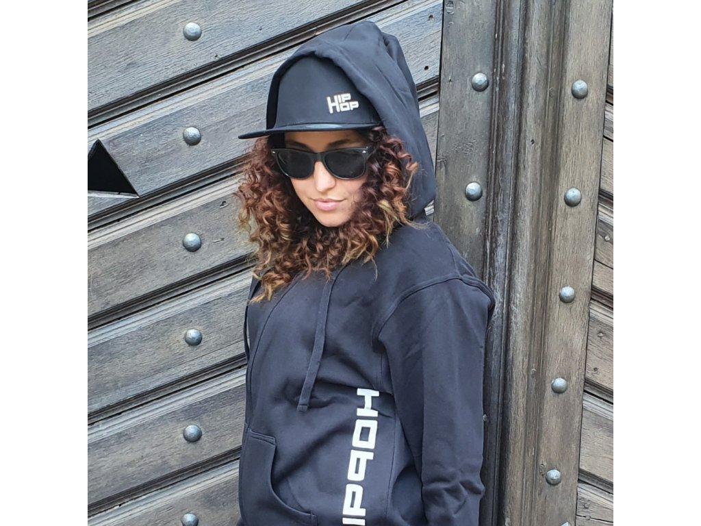 Snapback Hip Hop Mini Logo černý