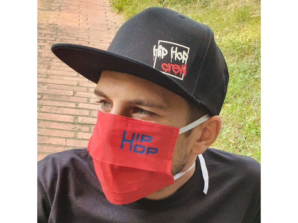 Snapback Hip Hop crew white / red