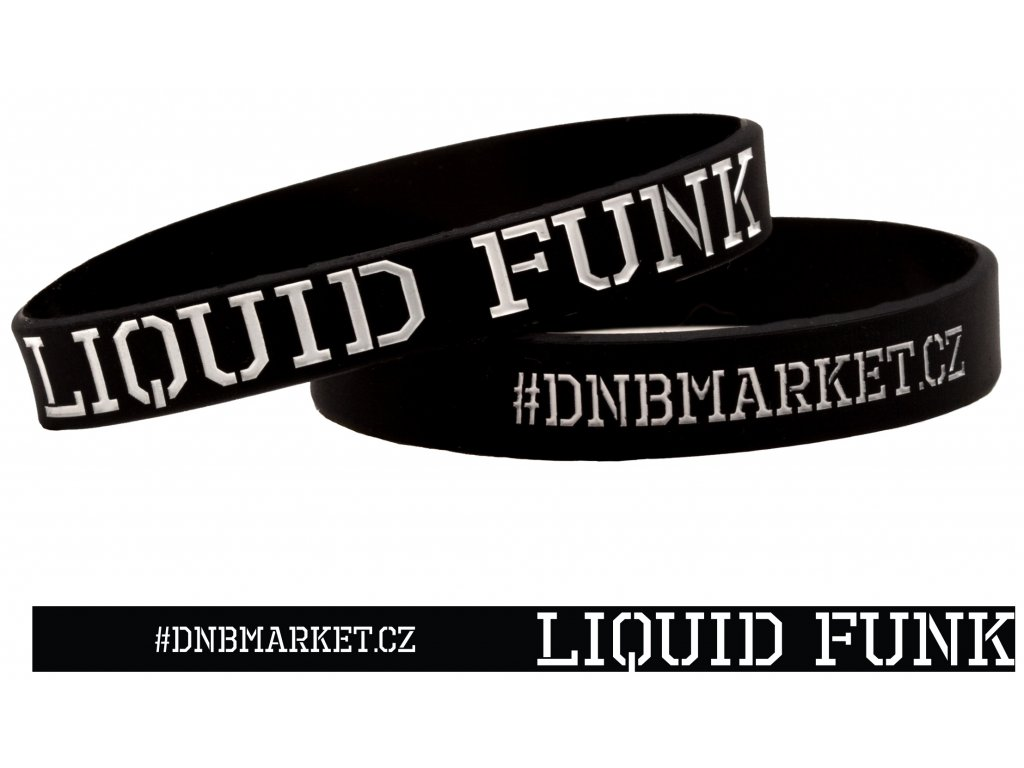 Náramek Liquid Funk černý