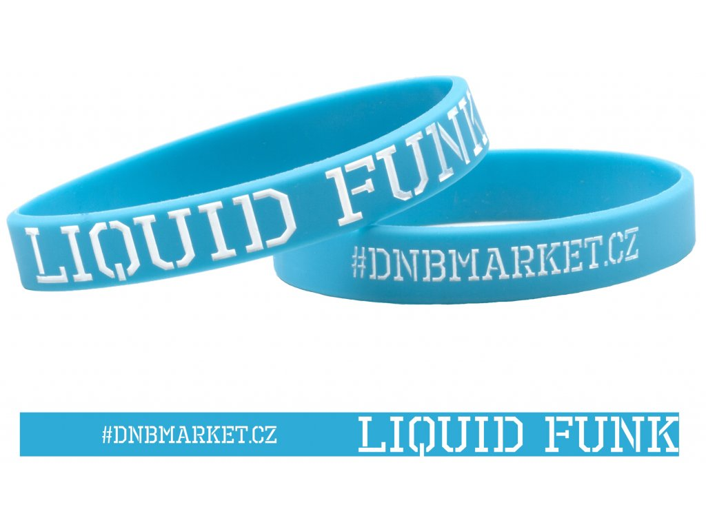 Náramek Liquid Funk modrý 2